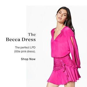 NWT Ramy Brook Becca Mini Dress